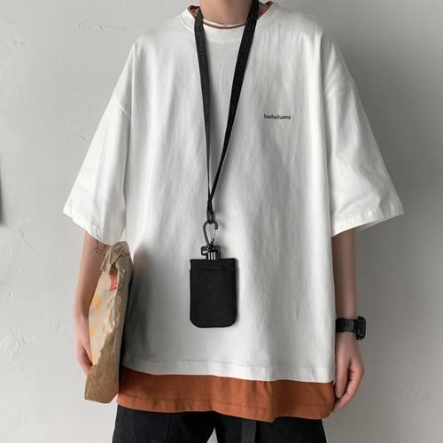 ロゴレイヤードTシャツ BL5686