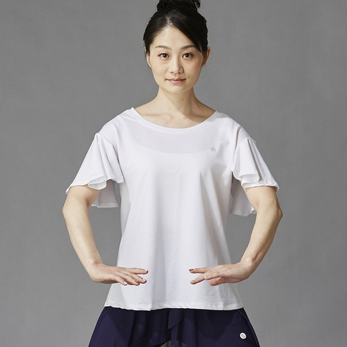 フレア Tシャツ ホワイト