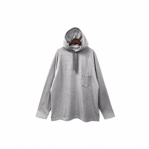 yotsuba - Hooded Cut&Sew / Gray ¥12000+tax
