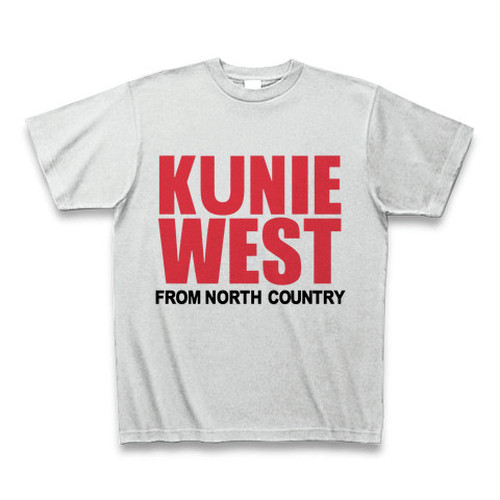KunieWest T-shirt Ash