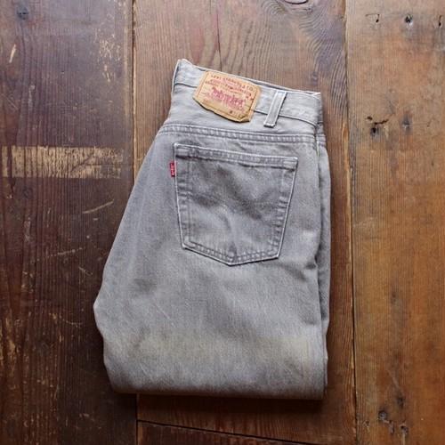 1990s Levi's 501 - 0636 Grey Jeans / リーバイス 先染め グレー デニム ASIS