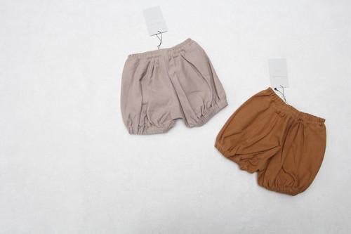 mimi poupons(ミミプポン)/パフボトム/Camel(キャメル)/(XS/S)