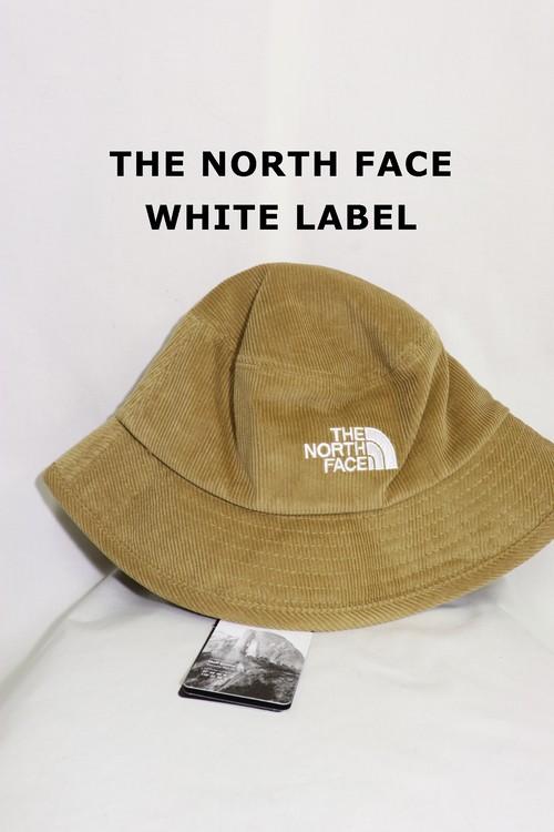 THE NORTH FACEバケットハットキャメル/ホワイトレーベル日本未入荷M