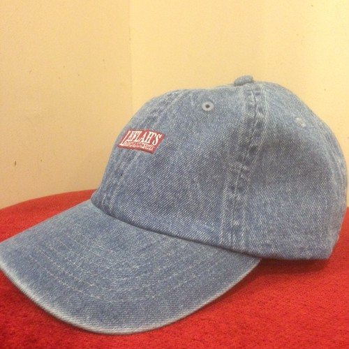 "LEFLAH / レフラー | Low-Cap "" Box Logo "" / Denim-Blue"