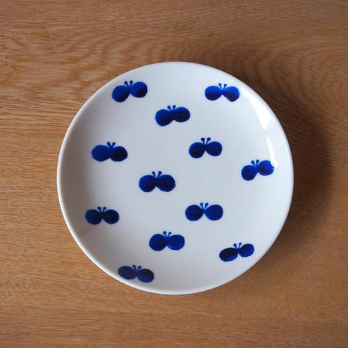butterfly plate ( blue )