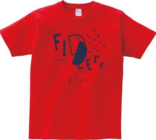 Tシャツ フィドラーズフェス2019 レッド