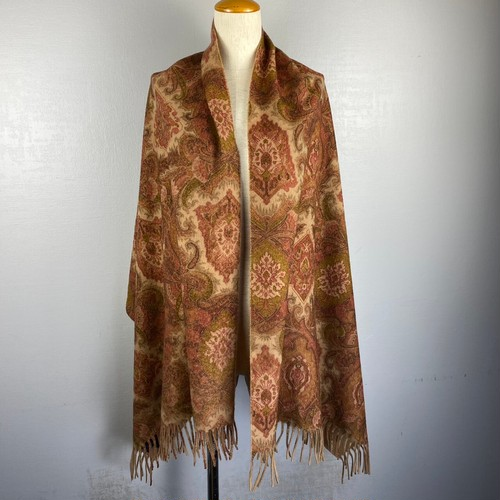 .ETRO CASHMERE100% PAISLEY PATTERNED SHAWL MADE IN ITALY/エトロカシミヤ100%ペイズリー柄ショール(マフラー/ストール) 2000000043074