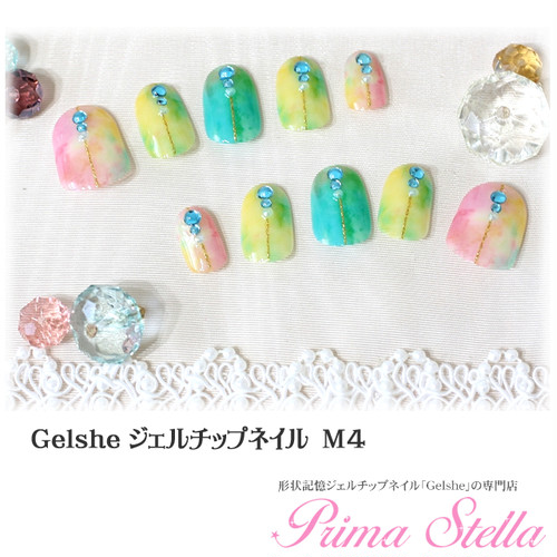 Gelshe gel chip nail 【M4】