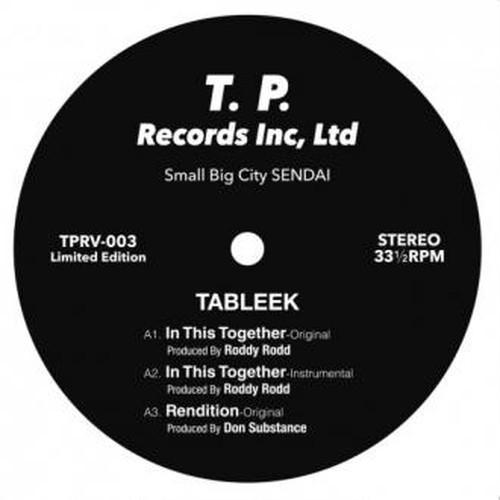 """【ラスト1/12""""】TABLEEK - In This Together"""