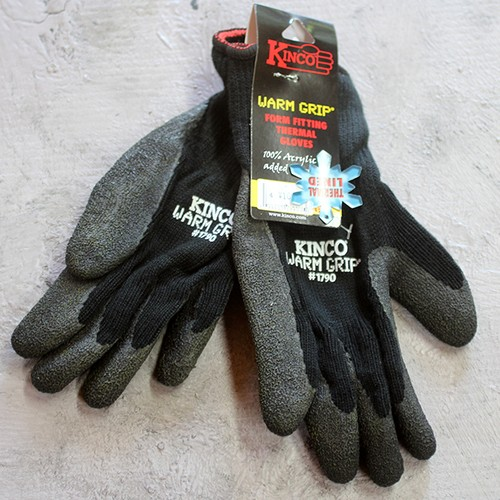 KINCO GLOVE 1790 THERMAL LATEX PALM GLOVE(キンコグローブ)
