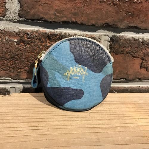 Round coin case Italy Camo Deep