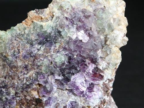 自主採掘!カリフォルニア産 フローライト 蛍石 原石 345g  FL055 鉱物 天然石 パワーストーン