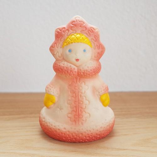 【ロシア】 ソフトビニール人形 「スネグラチカ」 ソフビ スネグラーチカ Снегурочка