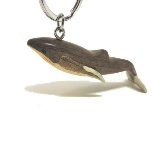 【海のキーホルダー】組木づくり(ザトウクジラ)