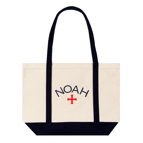Two-Tone Core Logo Tote(Black)