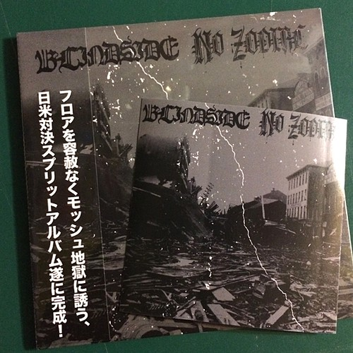 BLINDSIDE / NO ZODIAC (split CD)