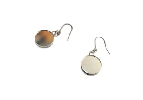 """""""Uncertain Surface"""" Pierced earrings(ピアス)M"""