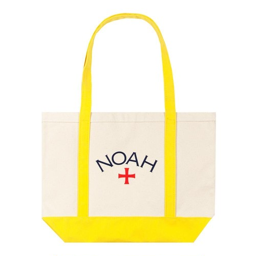 Two-Tone Core Logo Tote(Yellow)