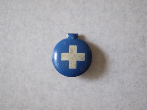 BADGE / WHITE CROSS (〜40'S?)