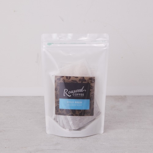 【3pc入/ご家庭で簡単に水出しアイスコーヒーを】COLD BREW PACK 3P(Roasted COFFEE LABORATORY/ローステッドコーヒーラボラトリー)