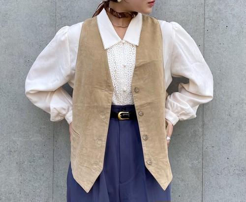 (PAL) suède design vest