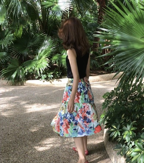 botanical skirt