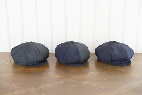 Tarre | ピンストライプ キャスケットベレー帽(グレー)