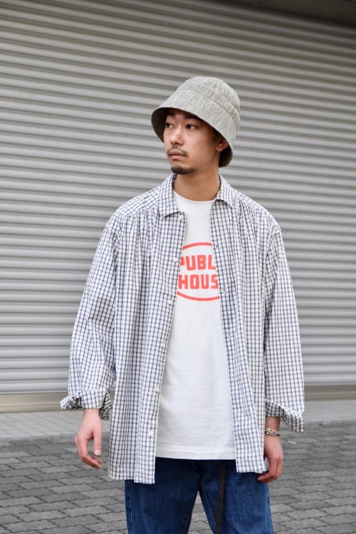 RESTOCK【ORDINARY FITS】GATHER SHIRTS/OF-S24