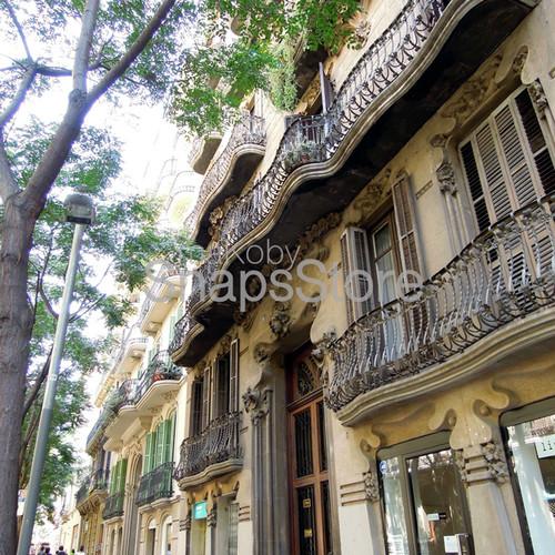 バルセロナ グラシア地区 散歩 Walking district Gràcia Barcelona