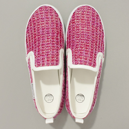 KNIT SHOES SIZE:M (24.0cm~24.5cm)