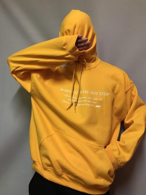 Romantic does not stop hoodie