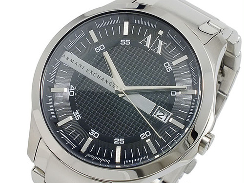 アルマーニエクスチェンジ ARMANI EXCHANGE クオーツ メンズ 腕時計 AX2103 ブラック