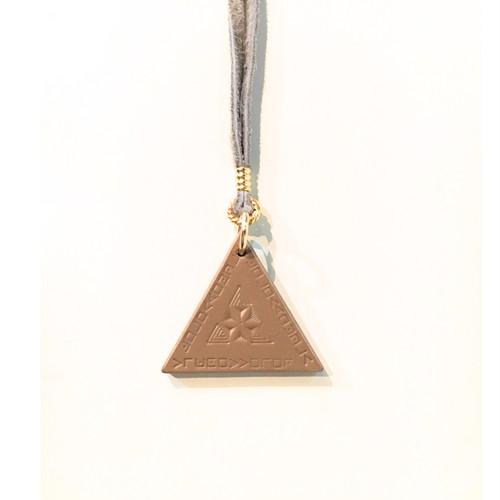 nahezu gleich/ Dreieck Necklace (grg)