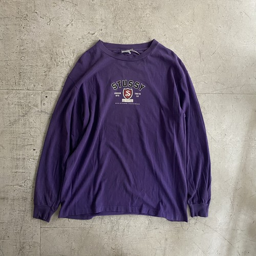 "STUSSY L/S ""made in USA"""