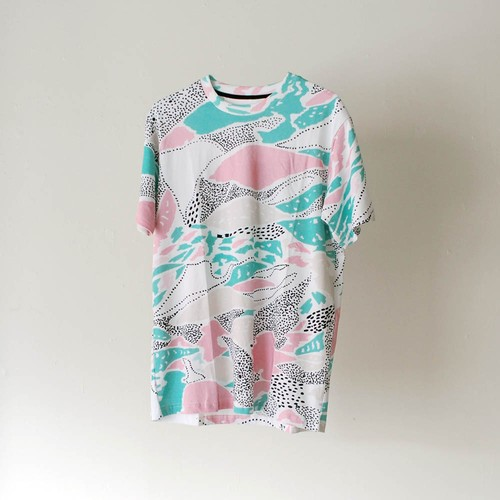 """ZL BY ZLISM"" colorful pattern Tee"
