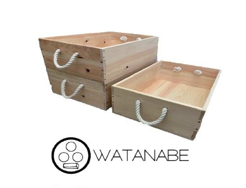 木箱 -ヒノキ- WATANABEオリジナル
