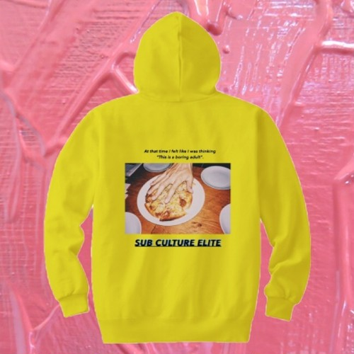 """SUB CULTURE ELITE"" hoodie"