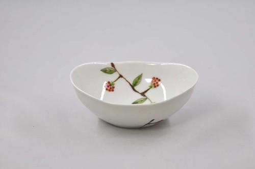 野いちご 楕円小鉢