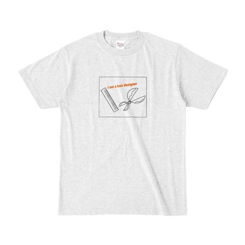 ヘアーデザイナー Tシャツ グレー