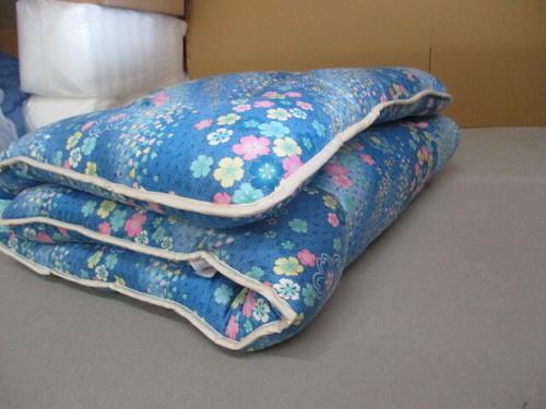 敷き布団 シングルサイズ ブルー系アカプルコブルー