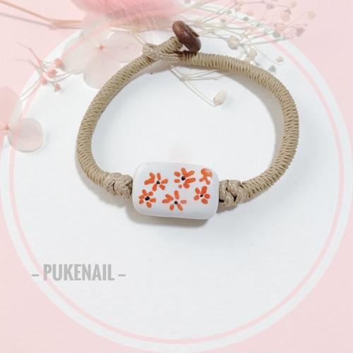 春の香り❤️ 花❤️ブレスレット ハンドメイド