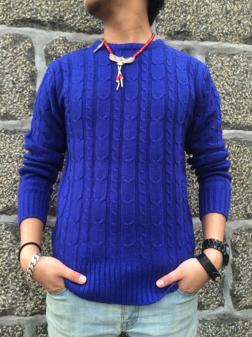 FLASHBACK毎年120枚完売】Standard Carble Knit Sweater