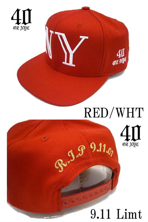 40OZ NYC Balmain Inspired NY 9.11 Limited Snapback