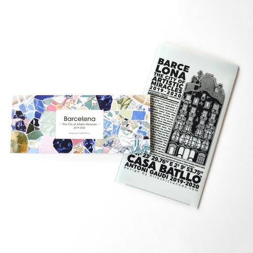 「奇蹟の芸術都市 バルセロナ」展 チケットフォルダー / 一筆箋セットC