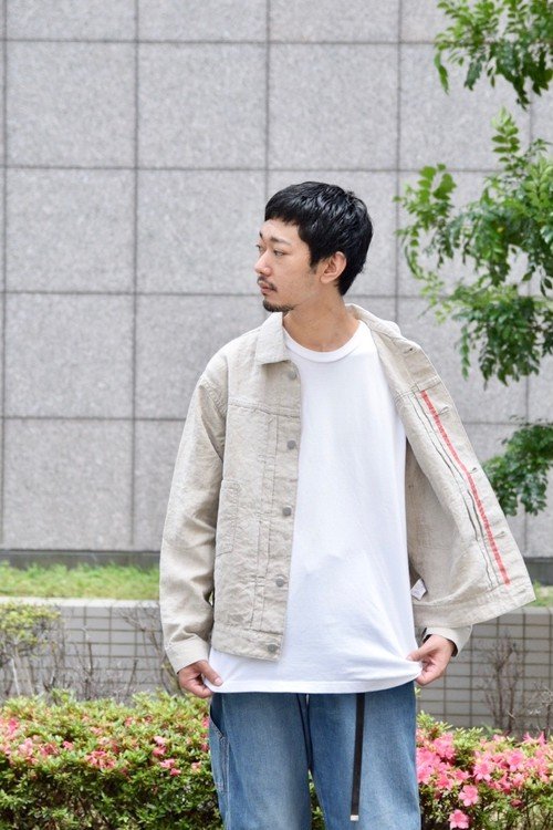 【ORDINARY FITS】LINEN JACKET 1ST/OF-J026