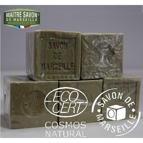 【ワケアリ】マルセイユ石鹸 オーセンティック オリーブ 300g×5個セットおまけにもう1個 合計6個