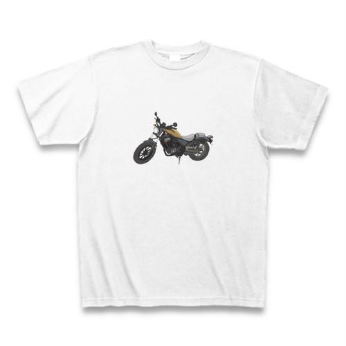 ちょっとリアルなバイクT#ホワイト