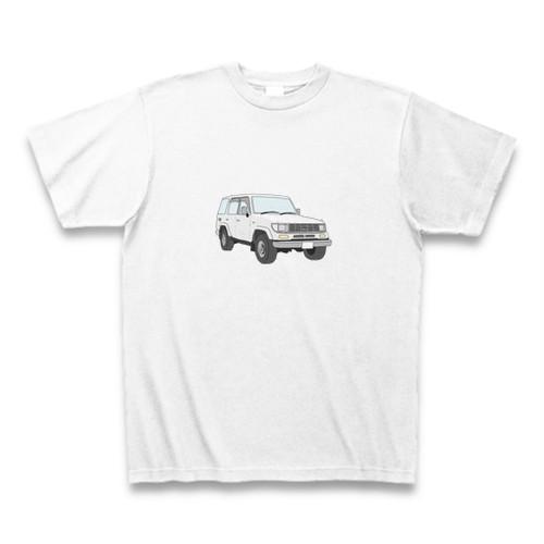 ちょっとリアルな車T#ホワイト