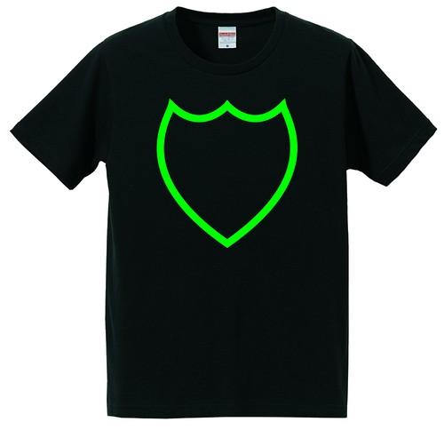 Emblem tee Black/Green