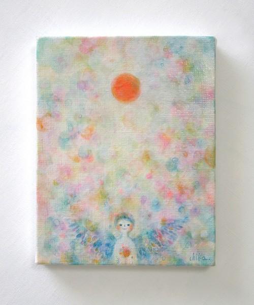 「虹色天使と日」原画